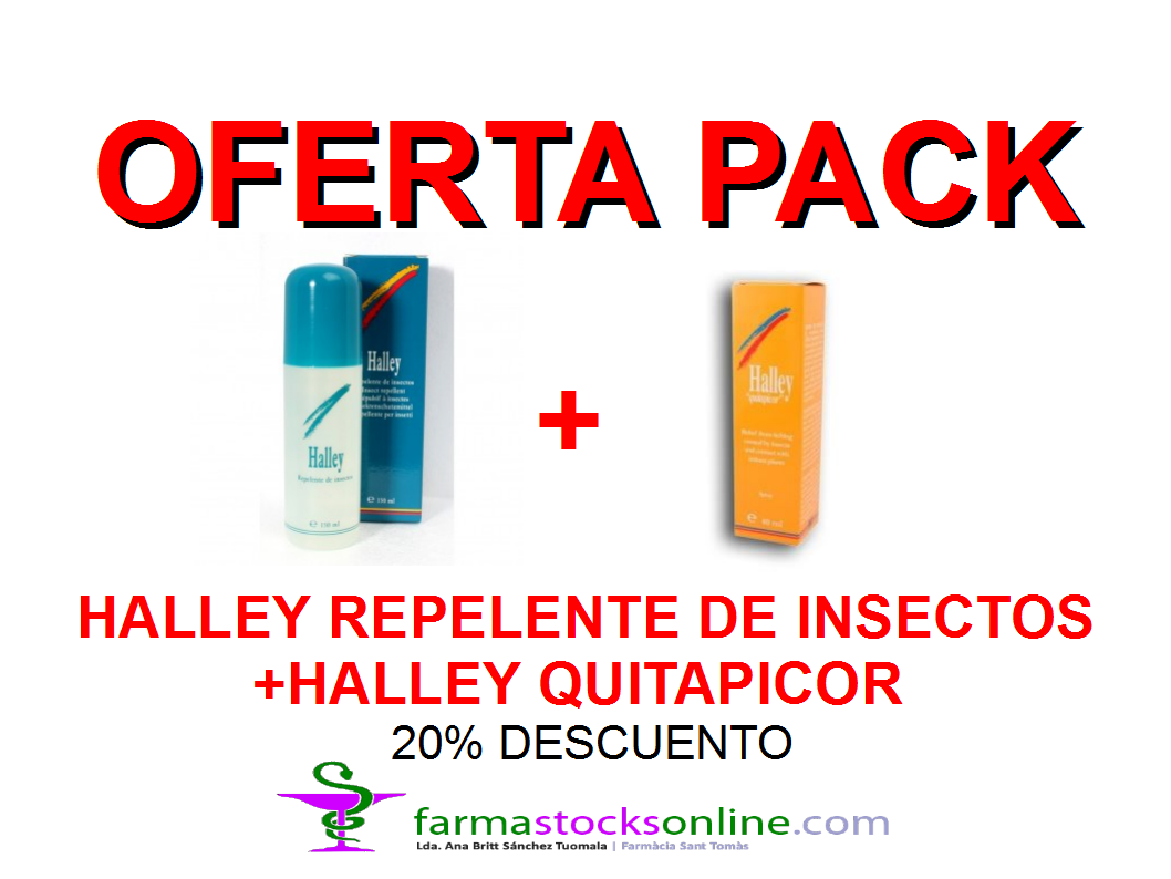 Pack Oferta Halley Repelente + Halley Quitapicor