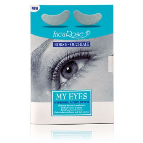 Inca Rose My Eyes Hidrogel Active Patch 2 unidades