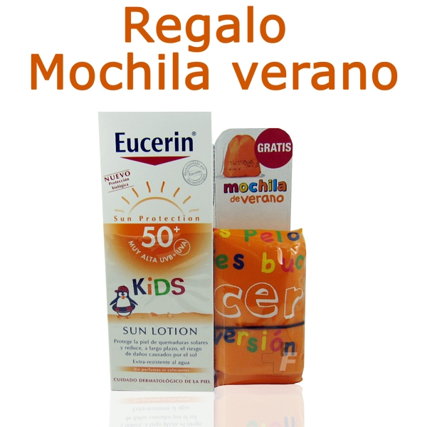Eucerin Sun Loción 50 Kids 150ml.