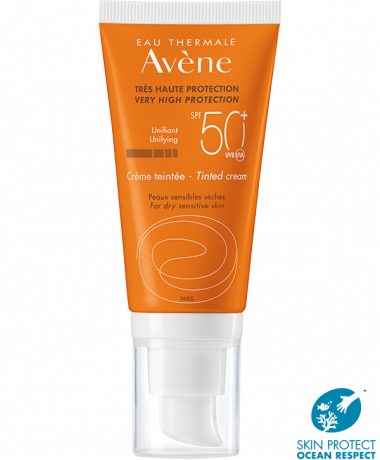 Avene Crema Con Color SPF50+ 50ml