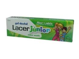 Lacer Junior Gel Dental Menta 75ml.